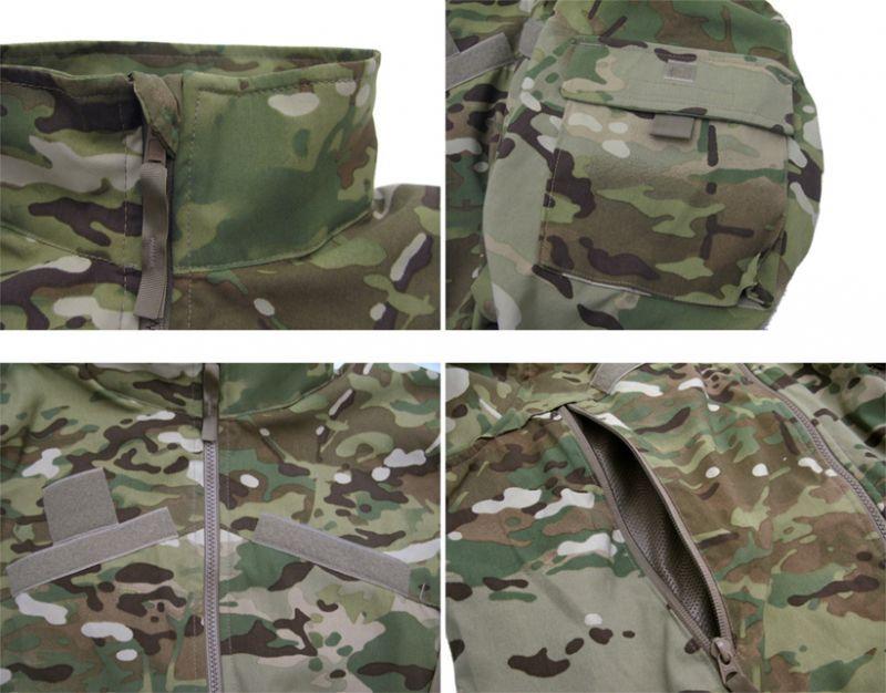 """画像4: U.S.ARMY ECWCS """"GEN III""""  Level4 Wind Jacket Dead Stock MULTICAM size SMALL - REGULAR"""