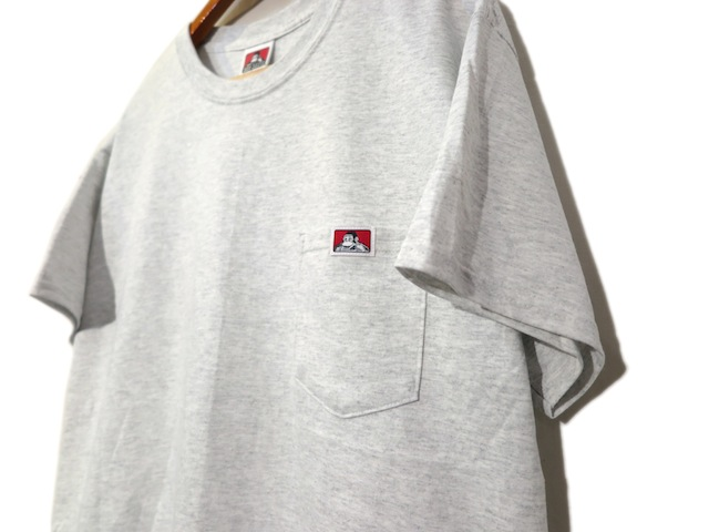 "画像3: BEN DAVIS Pocket Tee ""ASH GREY"" size S ~ 2XL"