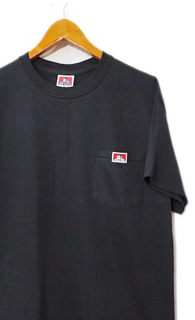 "画像1: BEN DAVIS Pocket Tee ""BLACK"" size S ~ 2XL"