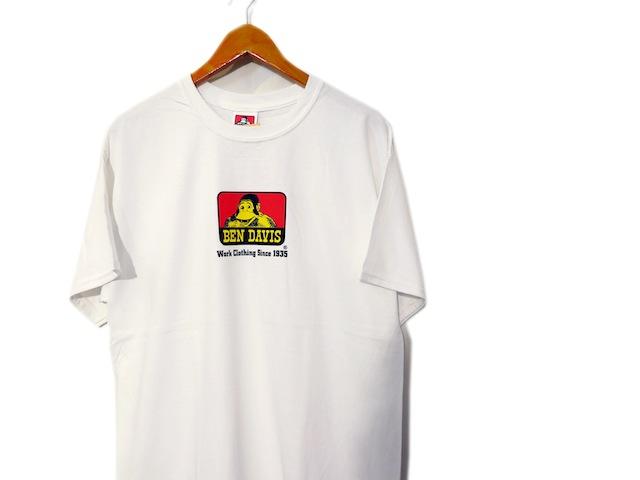 画像2: BEN DAVIS Classic Logo Print Tee size S ~ 2XL