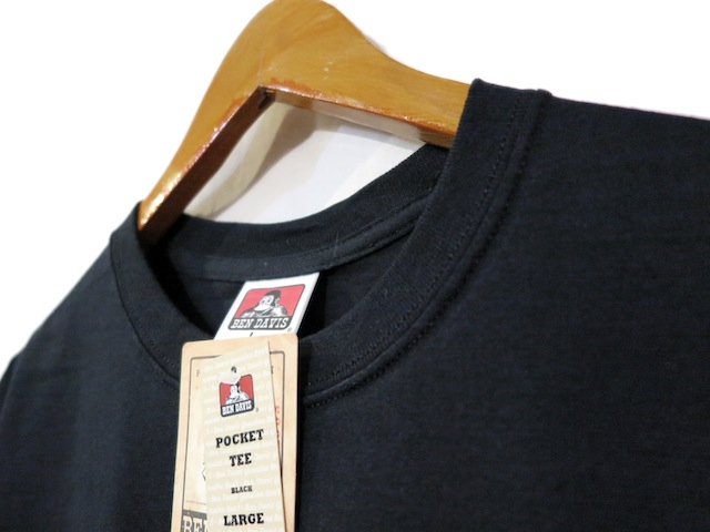 "画像4: BEN DAVIS Pocket Tee ""BLACK"" size S ~ 2XL"