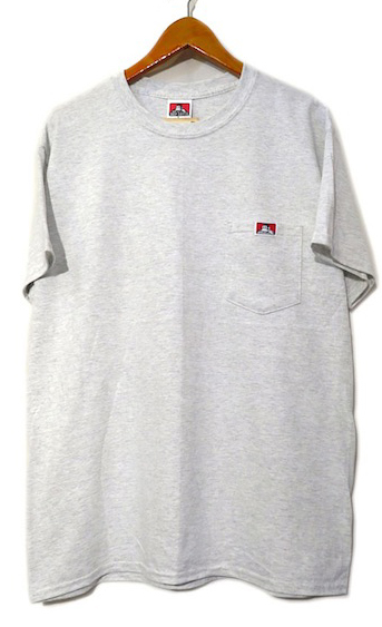 "画像2: BEN DAVIS Pocket Tee ""ASH GREY"" size S ~ 2XL"