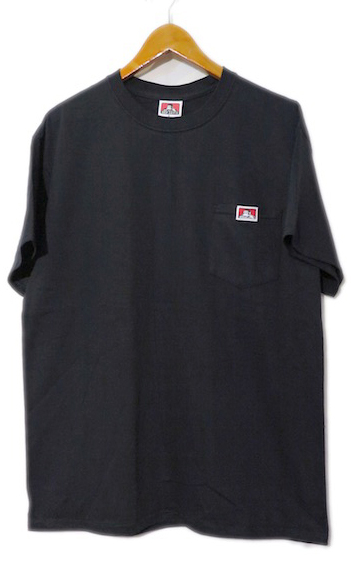 "画像2: BEN DAVIS Pocket Tee ""BLACK"" size S ~ 2XL"