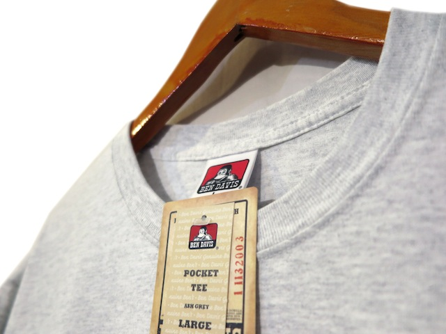 "画像4: BEN DAVIS Pocket Tee ""ASH GREY"" size S ~ 2XL"