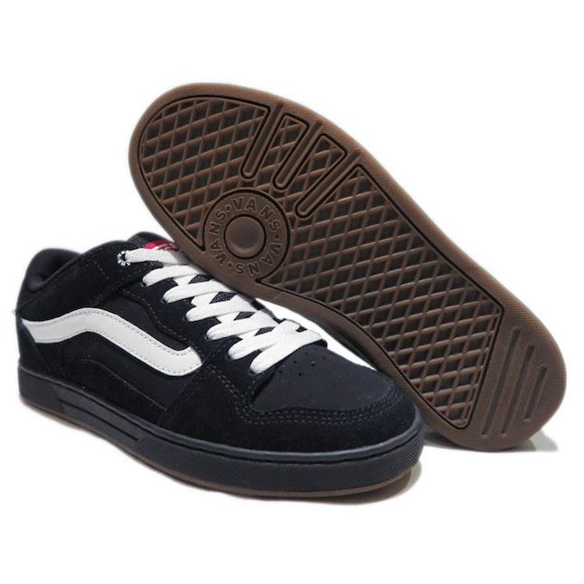 画像2: NEW VANS Suede Skate Shoes Black / White size  7.5 , 11