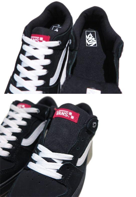 画像5: NEW VANS Suede Skate Shoes Black / White size  7.5 , 11
