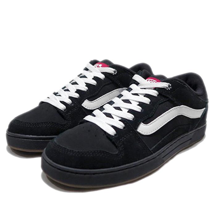 画像1: NEW VANS Suede Skate Shoes Black / White size  7.5 , 11