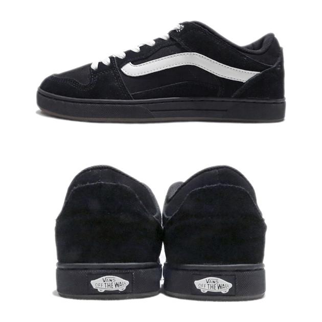 画像4: NEW VANS Suede Skate Shoes Black / White size  7.5 , 11