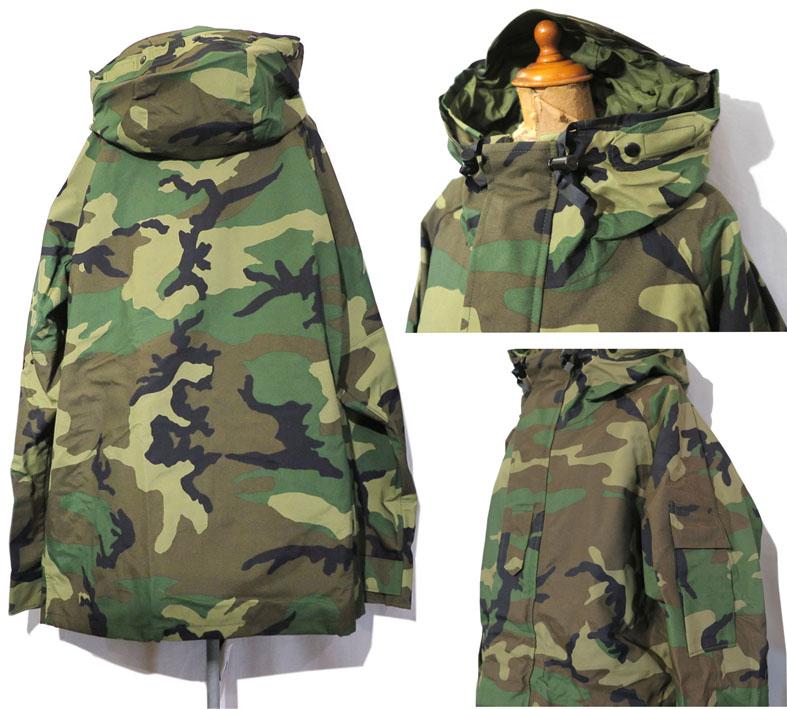 """画像2: 1990's U.S. ARMY  ECWCS """"GEN I"""" Gore-Tex Parka  Dead Stock Woodland Camouflage size MEDIUM - LONG"""