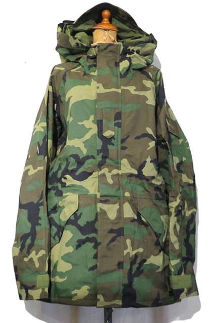 """画像1: 1990's U.S. ARMY  ECWCS """"GEN I"""" Gore-Tex Parka  Dead Stock Woodland Camouflage size MEDIUM - LONG"""