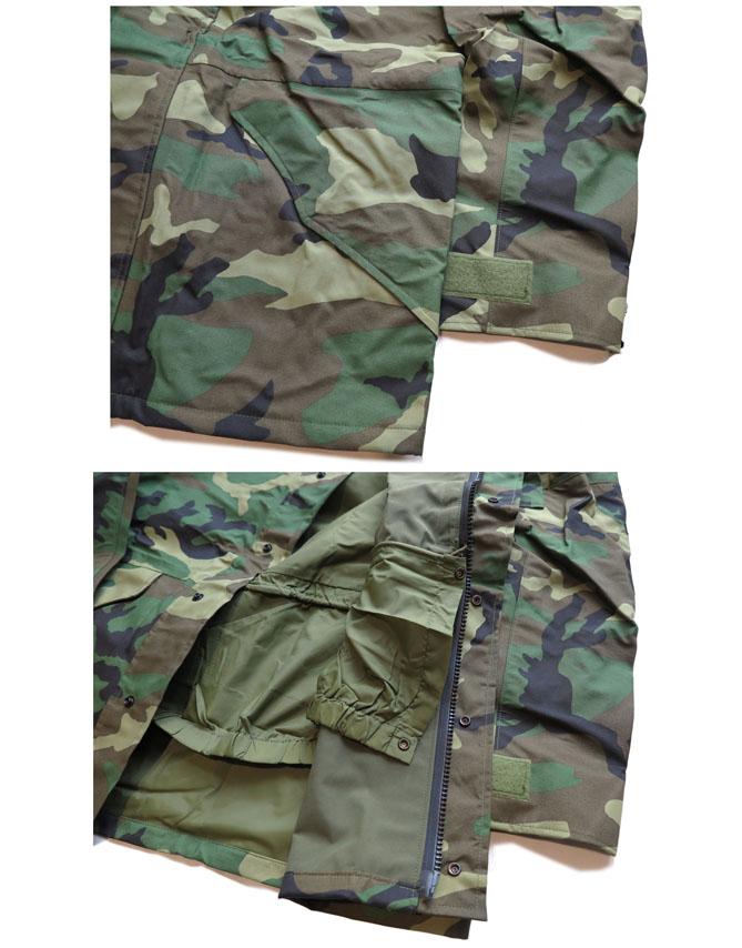 """画像5: 1990's U.S. ARMY  ECWCS """"GEN I"""" Gore-Tex Parka  Dead Stock Woodland Camouflage size MEDIUM - LONG"""