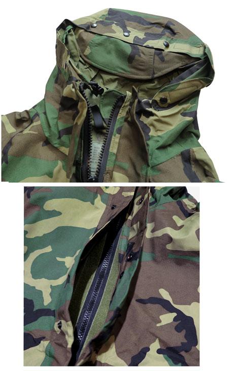 """画像4: 1990's U.S. ARMY  ECWCS """"GEN I"""" Gore-Tex Parka  Dead Stock Woodland Camouflage size MEDIUM - LONG"""
