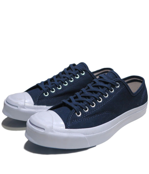 "画像1: NEW Converse ""Jack Purcell Signature"" Low-Cut Canvas Sneaker Navy size 8"