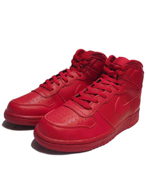 """画像1: NEW NIKE """"Big Nike High"""" Leather Sneaker Red size 8.5 , 9 , 9.5 , 10"""