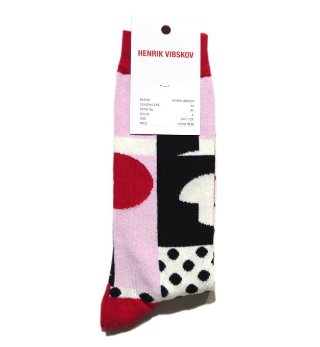"""画像2: A) HENRIK VIBSKOV """"Balance Socks"""" color : Red & Pink size FREE"""
