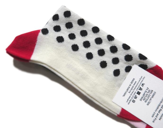 """画像3: A) HENRIK VIBSKOV """"Balance Socks"""" color : Red & Pink size FREE"""