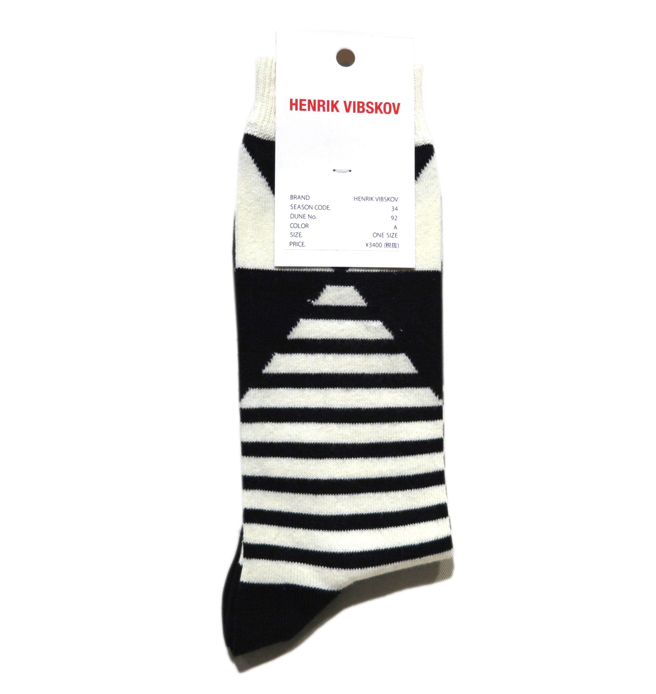 "画像2: C) HENRIK VIBSKOV ""Harmony Socks"" color : Black Foot size FREE"