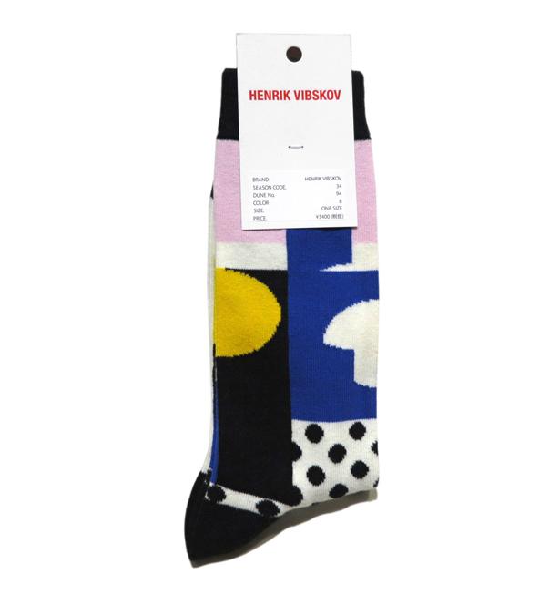 """画像2: B) HENRIK VIBSKOV """"Balance Socks"""" color : Blue & Pink size FREE"""
