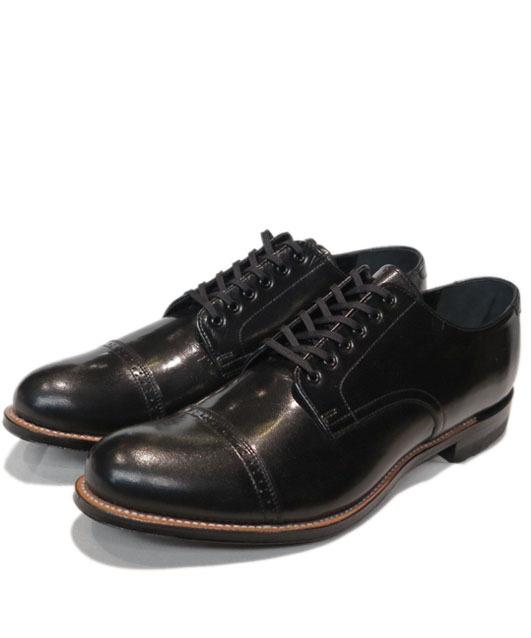"""画像1: STACY ADAMS """"MADISON LOW"""" Leather Shoes BLACK size 7 , 7.5 , 8 ,10"""