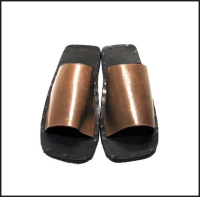 """画像1: JUTTA NEUMANN """"SAM"""" SADDLE Leather Sandal"""