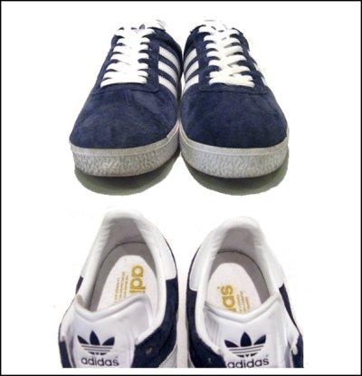 """画像2: 00's~ adidas """"GAZELLE"""" Suede NAVY size 8 1/2"""