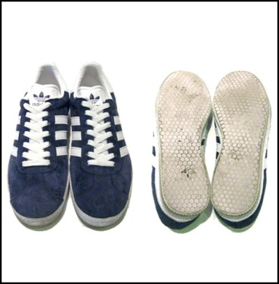 """画像1: 00's~ adidas """"GAZELLE"""" Suede NAVY size 8 1/2"""