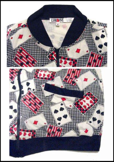 "画像2: 1980's L'ERU VIVE ""Trump Fabric"" Cotton Jacket size M"