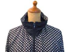 """画像5: 1980's """"BLAIR BOUTIQUE"""" Dot / Stripe Nylon Design Jacket size M (5)"""