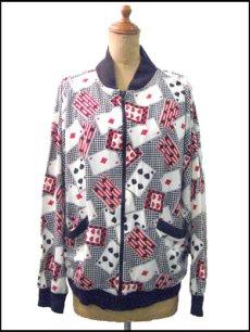 "画像1: 1980's L'ERU VIVE ""Trump Fabric"" Cotton Jacket size M (1)"