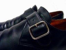 """画像3: JHON LOBB PARIS """" Fould """" Monk Strap Leather Shoes size 8 1/2 D (3)"""