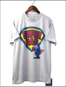 """画像1: 1980's """"SUPER DAD"""" Tee made in USA size M (1)"""