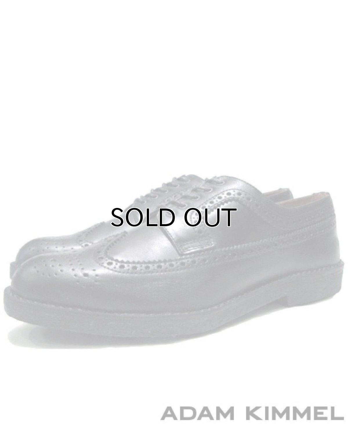 画像1: ADAM KIMMEL 2012-13AW Wing Tip Leather Shoes Gam Sole size 9 (1)