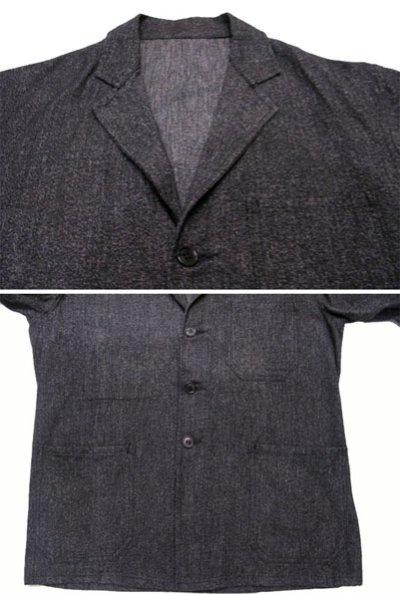 画像2: ~1950's Belgium Worker Salt & Pepper Jacket size M (表記なし)