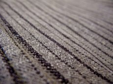 画像5: 1940's~ Swedish Cotton Stripe Prisoner Jacket size L (表記なし) (5)