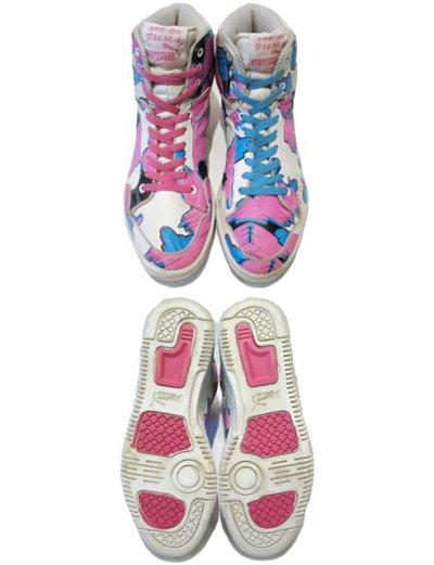 """画像1: 1980's PUMA """"ART OF PUMA""""  Sneaker size 9 (27cm)"""
