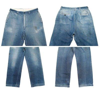 """画像1: 1950's """"BIG MAC"""" Denim Trousers size 33 inch (表記 なし)"""