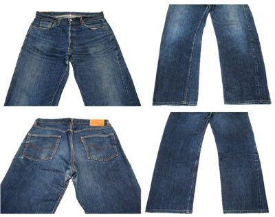 """画像1: 1960's LEVI'S 501 BIG """"E"""" Denim Pants size 34 inch (表記 W 36 x L 36)"""