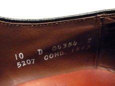 "画像5: ""Allen Edmonds"" Cap Toe Leather Shoes BLACK size 10D (5)"