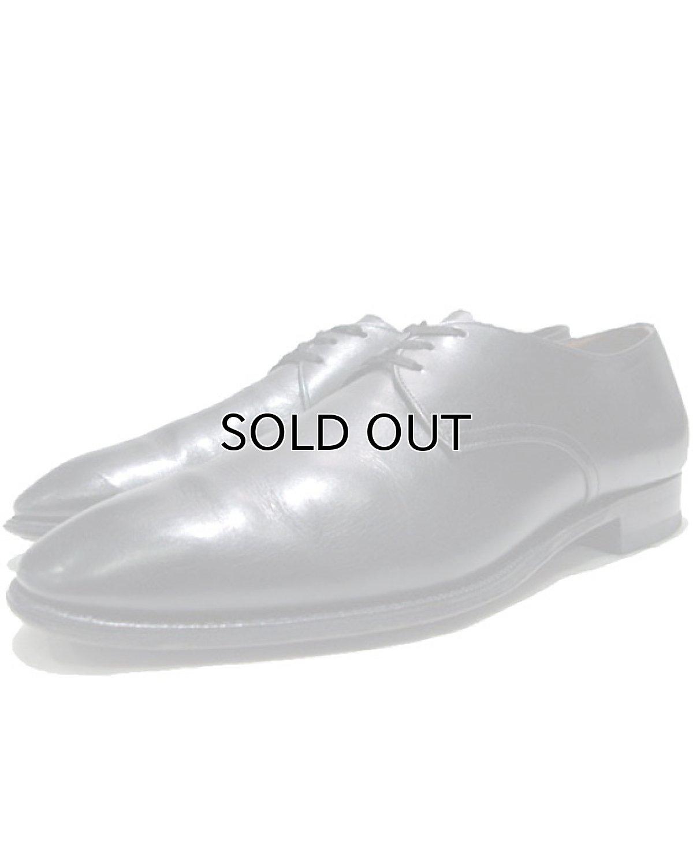 """画像1: 1980's """"Church's"""" Plain Toe Leather Shoes BLACK size 7 1/2 D (1)"""