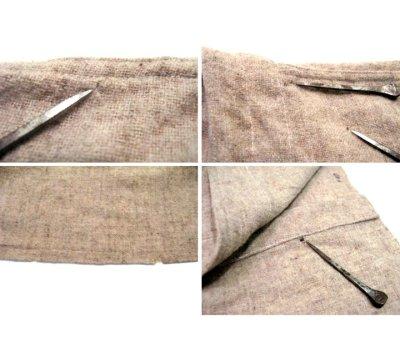 画像2: 1950's~ French Cotton / Wool Vest size L  (表記無し)