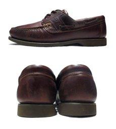 """画像2: ~1980's """"Allen Edmonds"""" Leather Deck Shoes BROWN size 9 1/2 D (2)"""
