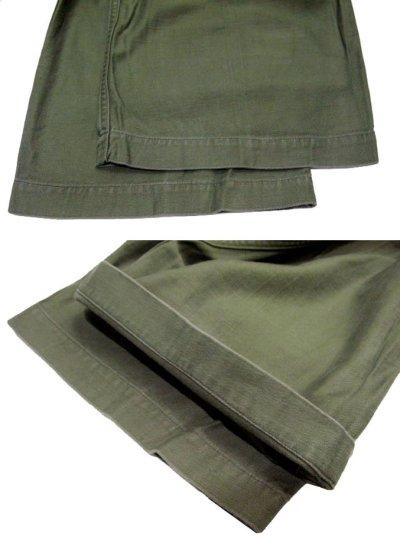 画像2: 1960's US Military Utility Baker Pants size ~ w 33 inch (表記 Medium)