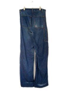 """画像2: 1950's """"CROWN"""" Denim Painter Pants size 34.5 inch (表記 なし) (2)"""