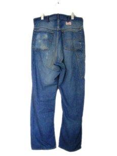 """画像2: 1950's """"Rail Chief"""" Denim Painter Pants size w 34.5 inch (表記 なし) (2)"""