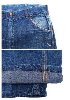 """画像5: 1950's """"Rail Chief"""" Denim Painter Pants size w 34.5 inch (表記 なし) (5)"""
