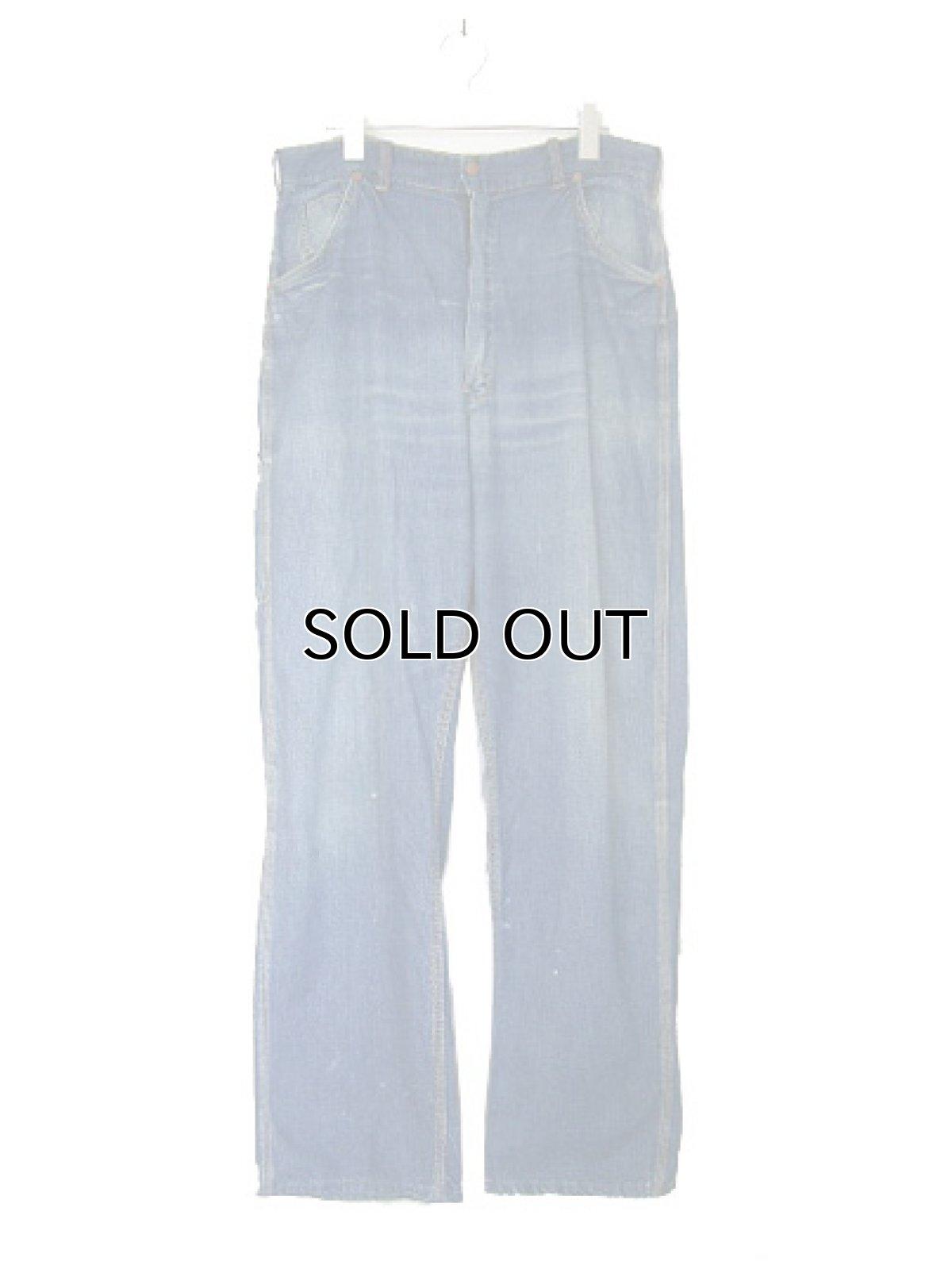 """画像1: 1950's """"Rail Chief"""" Denim Painter Pants size w 34.5 inch (表記 なし) (1)"""