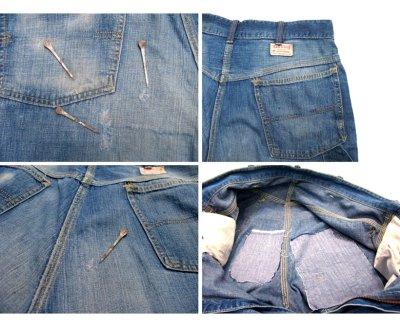 """画像2: 1950's """"Rail Chief"""" Denim Painter Pants size w 34.5 inch (表記 なし)"""