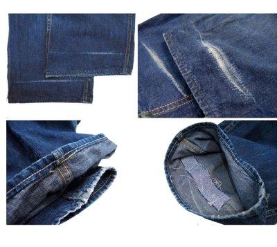 """画像3: 1950's """"CROWN"""" Denim Painter Pants size 34.5 inch (表記 なし)"""