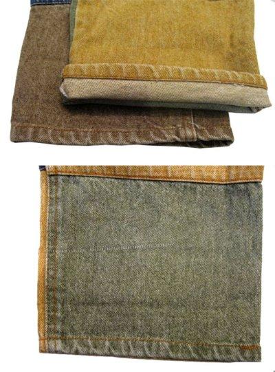 """画像3: 1990's """"PHILIP"""" Crazy Pattern Denim Pants size 31.5 inch (表記 40)"""