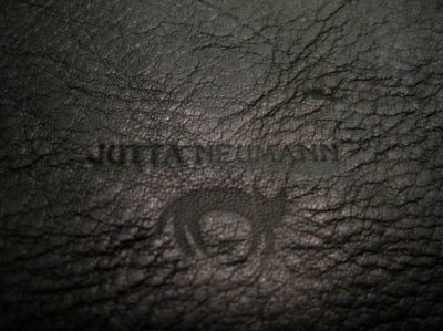 """画像3: """"JUTTA NEUMANN"""" Leather Wallet """"the Waiter's Wallet""""  color : BLACK / EMERALD  財布 ONE SIZE"""